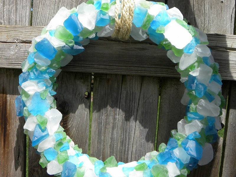 Sea Glass Wreath Ll Bean