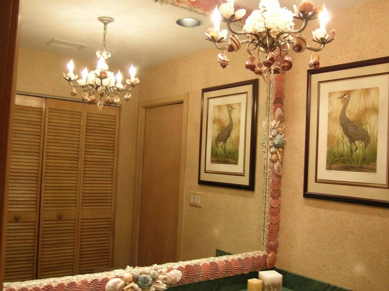 Seashell Bathroom Decorations