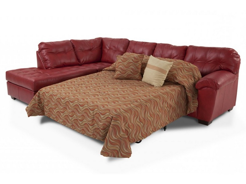 Sectional Sleeper Sofa Leather