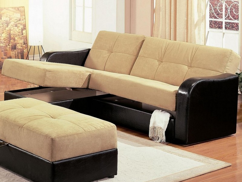 Sectional Sofa With Sleeper And Recliner