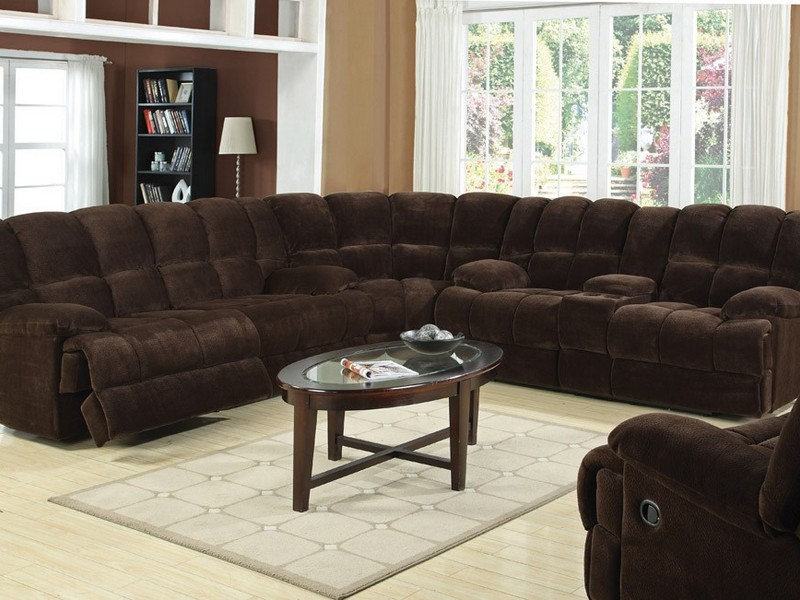 Sectional Sofas Recliners