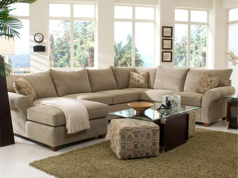 Sectional With Ottoman And Chaise