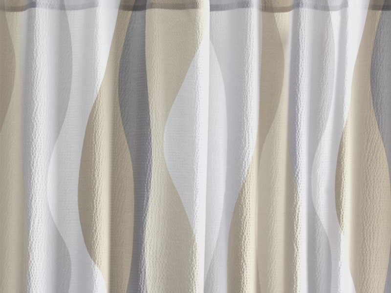 Seersucker Shower Curtain White