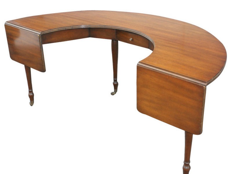 Semi Circle Desks
