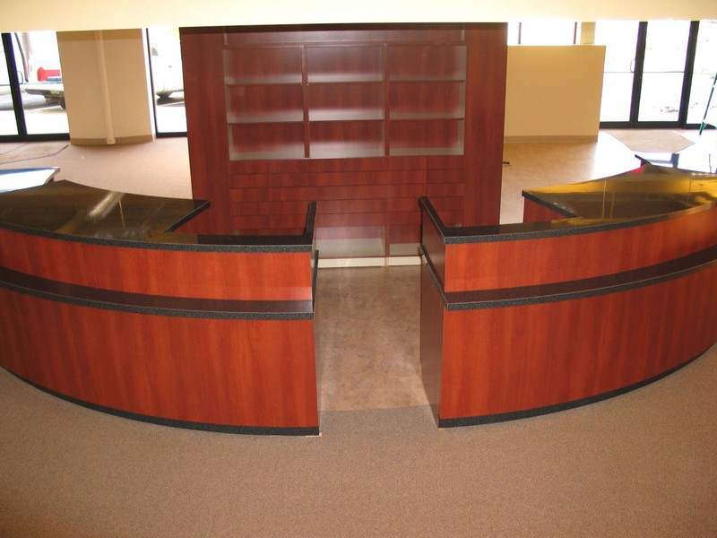 Semi Circle Reception Desk