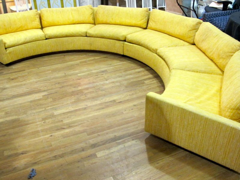 Semi Circular Sofa