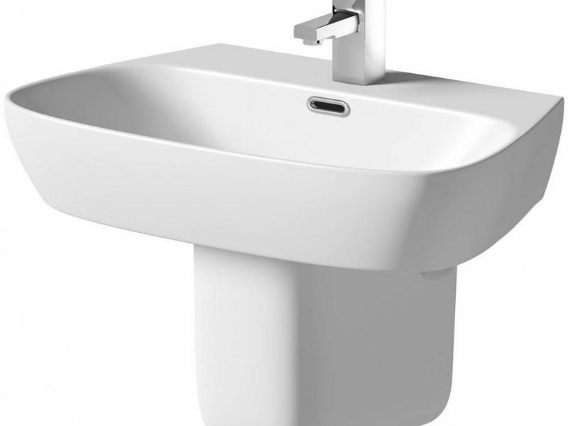 Semi Pedestal Bathroom Sink