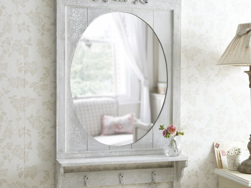 Shabby Chic Bathroom Mirror