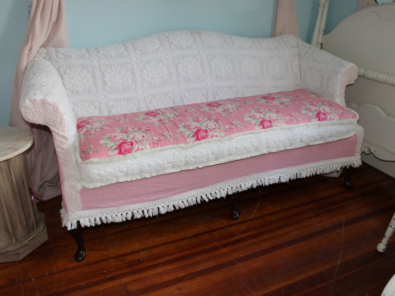 Shabby Chic Loveseat Slipcovers