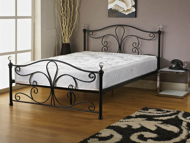Shabby Chic Metal Bed Frame