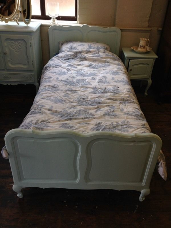 Shabby Chic Single Bed Frame
