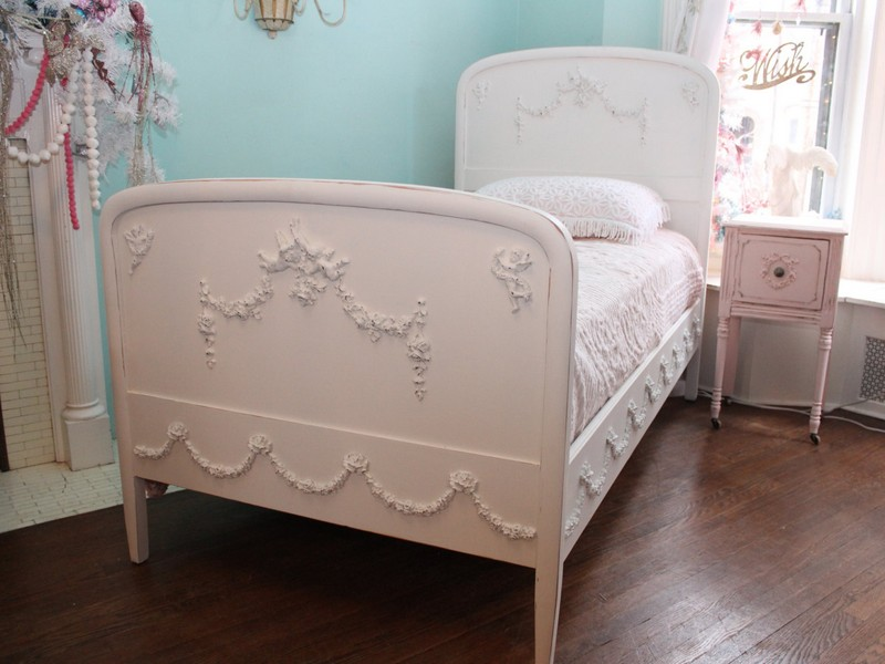 Shabby Chic Twin Bed Frame