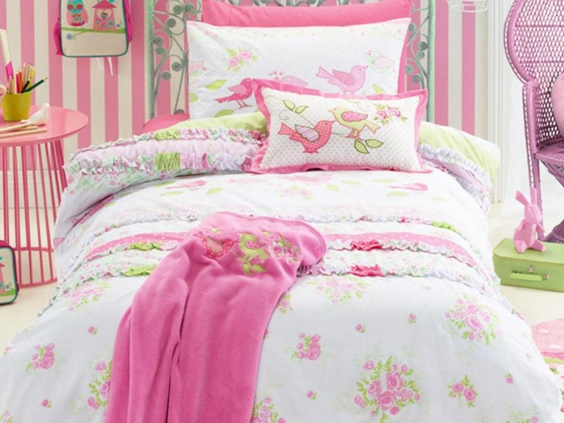 Shabby Chic Twin Bedding