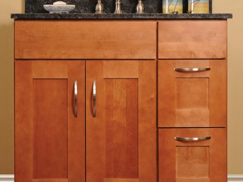 Shaker Style Bathroom Vanity Cabinet