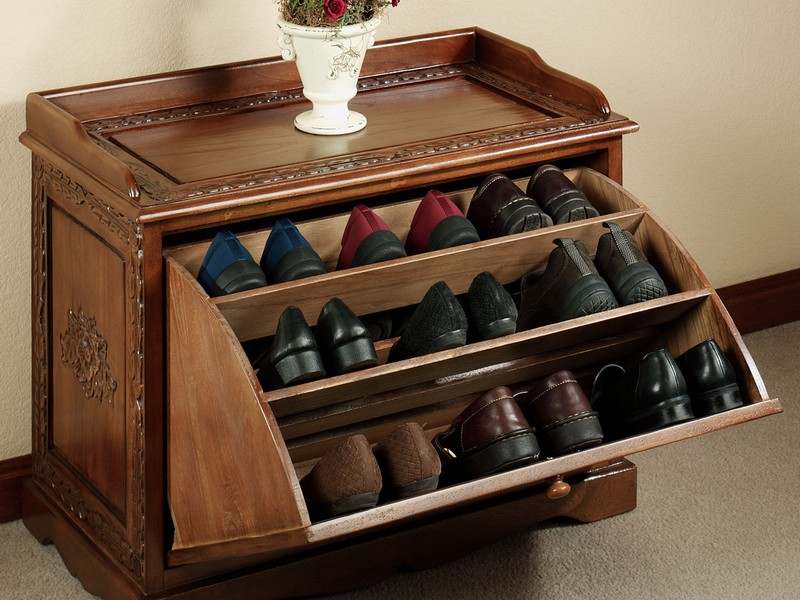 Shoe Organizer Bench