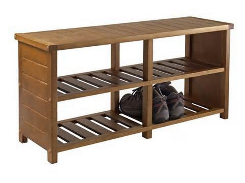 Shoe Rack With Bench