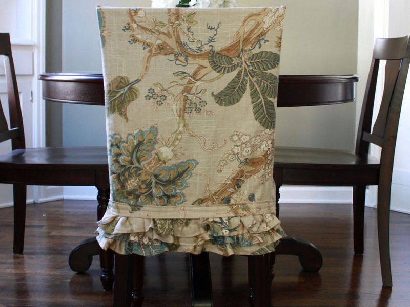 Short Slipcovers For Dining Room Chairs