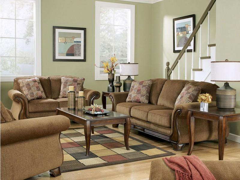Signature Design Sofa And Loveseat