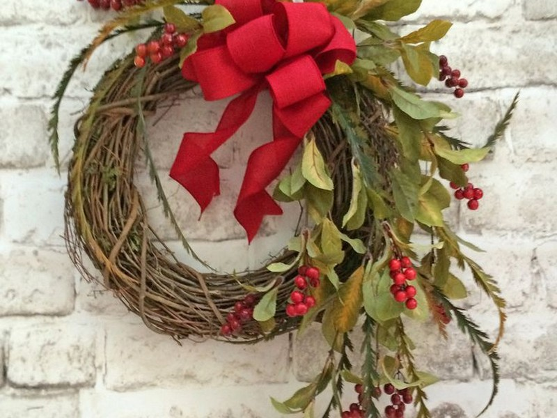 Silk Fall Wreaths For Front Door