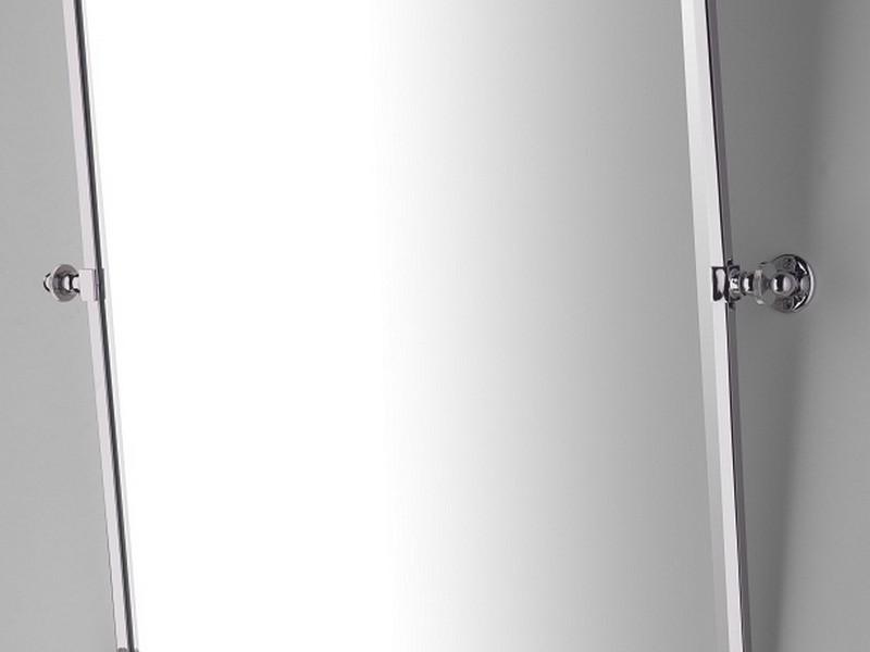 Silver Bathroom Mirror Rectangular