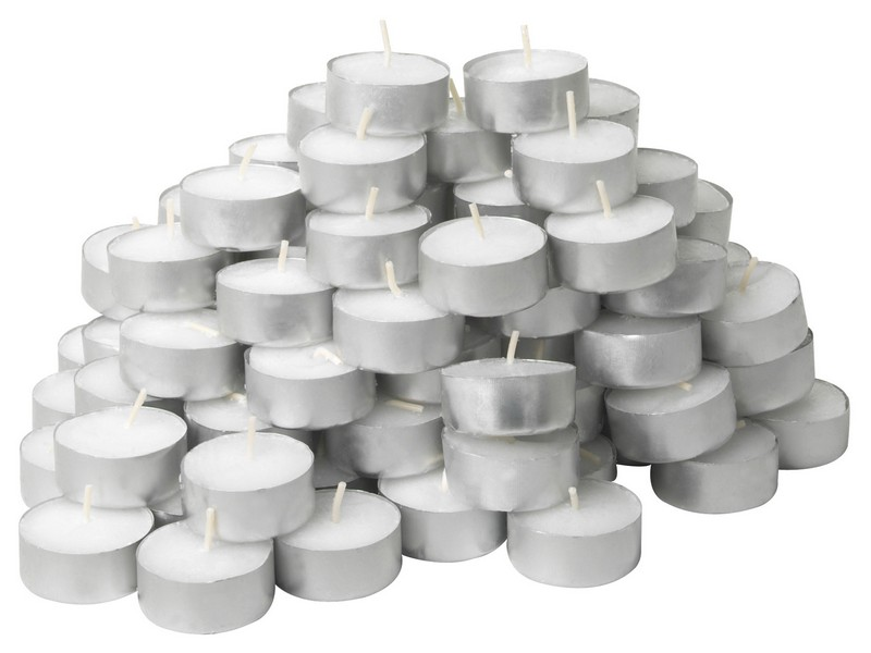 Silver Floating Candles Uk