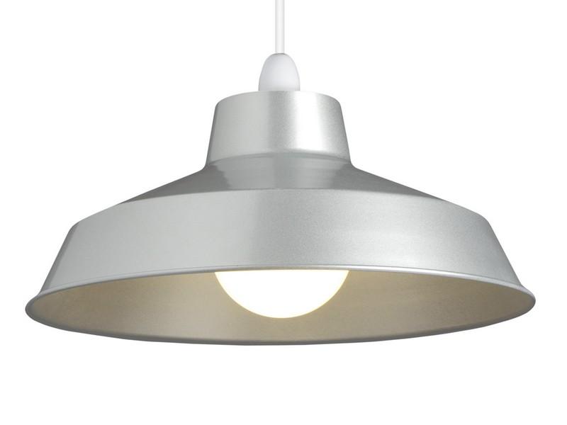 Silver Grey Lamp Shades Uk