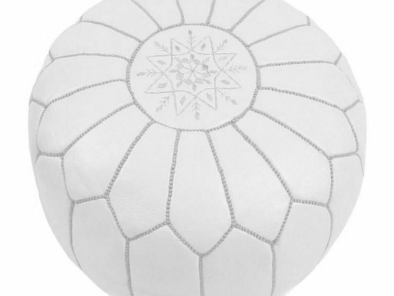 Silver Moroccan Pouf Target