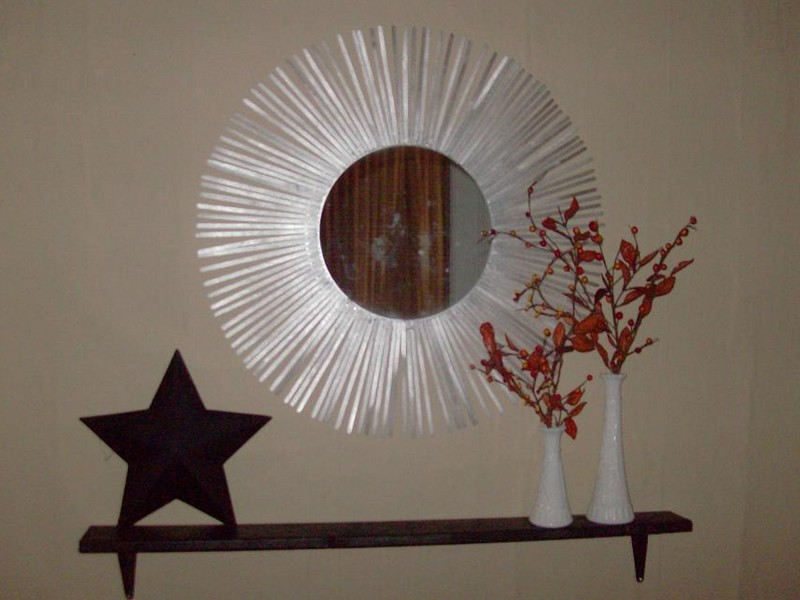 Silver Sunburst Mirror Cheap