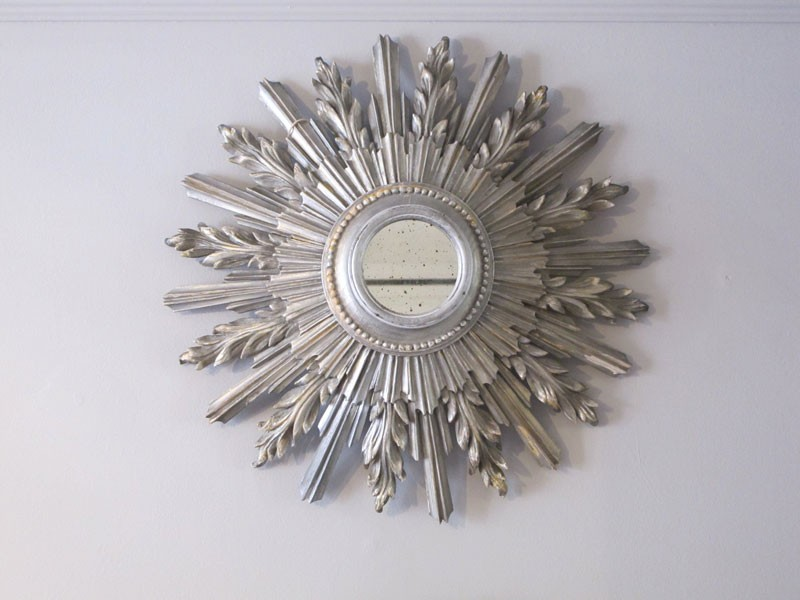 Silver Sunburst Mirror Uk