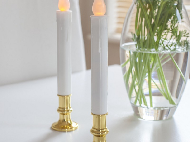 Silver Taper Candles Uk