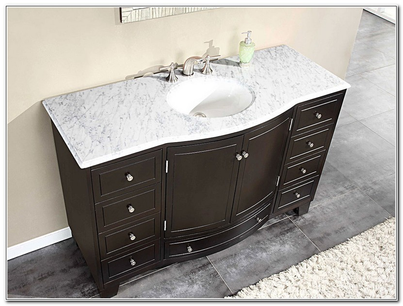 Single Bathroom Vanities With Tops