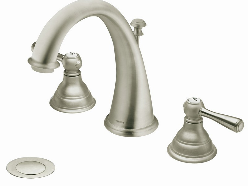 Single Hole Two Handle Bathroom Faucet