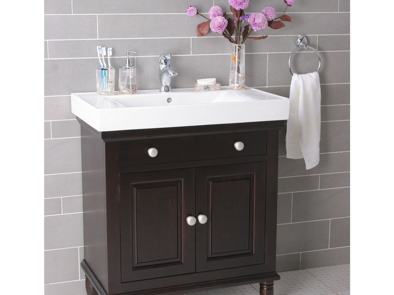Single Sink Bathroom Vanities