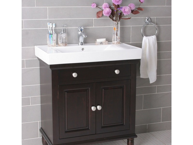 Single Sink Bathroom Vanity Cabinets