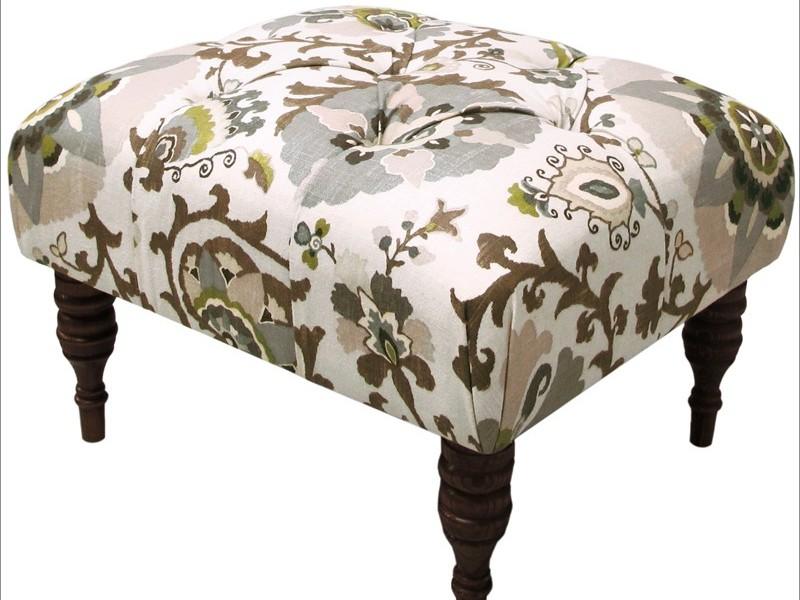 Skyline Furniture Tufted Ottoman