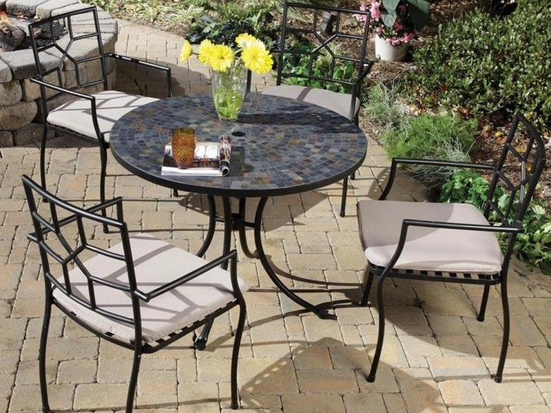 Slate Patio Table Care