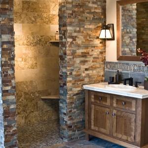 Slate Tile Bathroom Designs