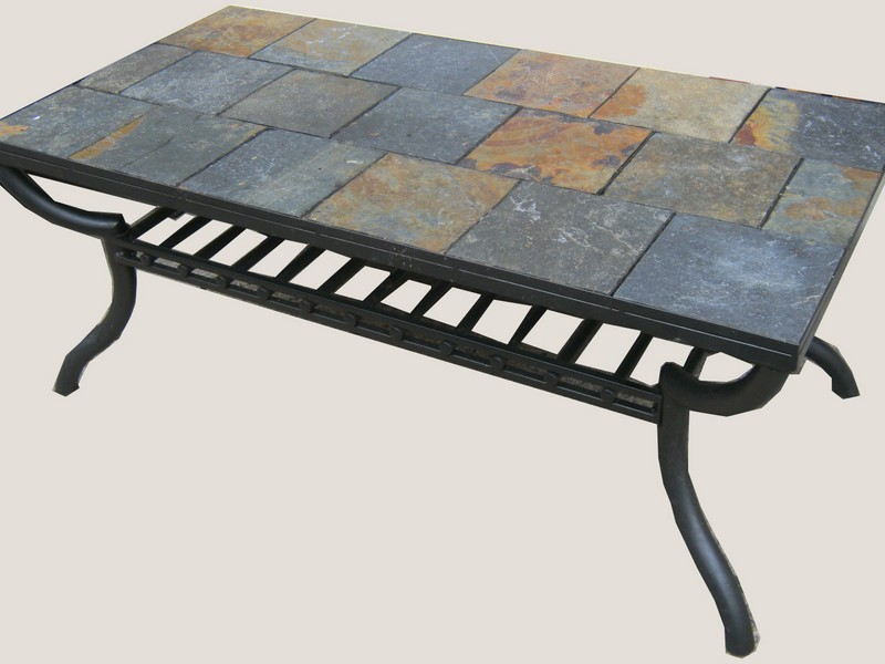 Slate Top Coffee Table Sets