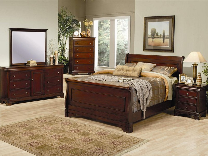 Sleigh Bedroom Set