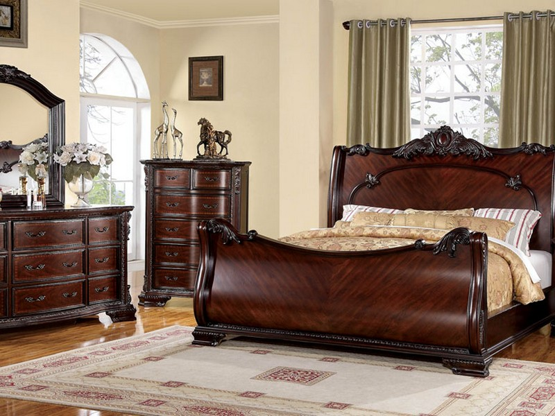 Sleigh Bedroom Sets King