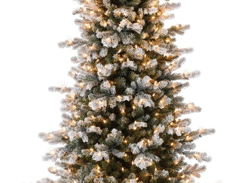 Slim Christmas Tree Prelit