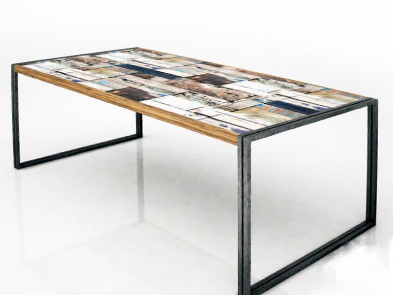 Slim Outdoor Dining Table