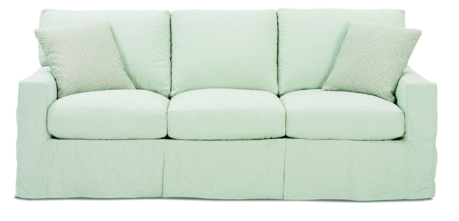 Slip Covered Sofas