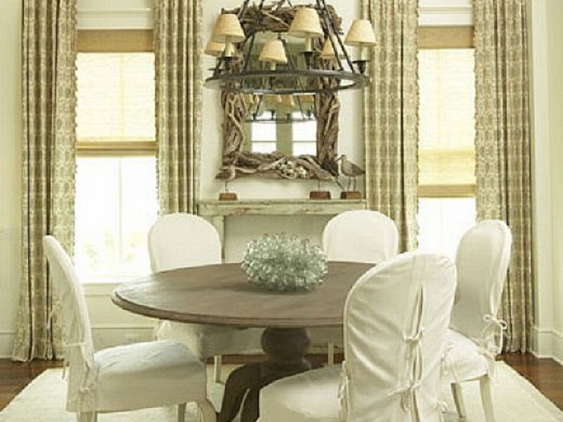 Slipcovered Dining Room Chairs