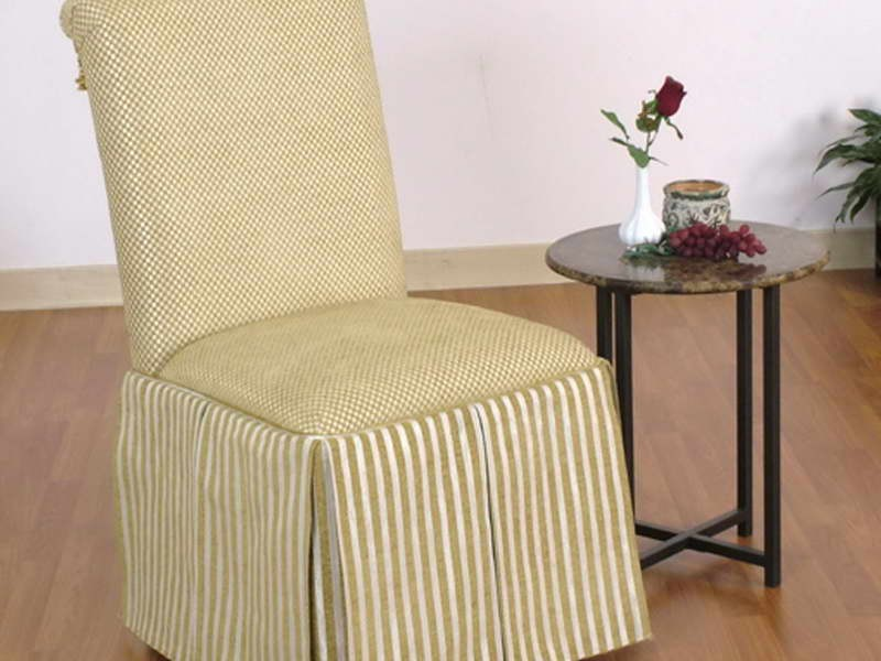Slipcovered Parsons Dining Chairs