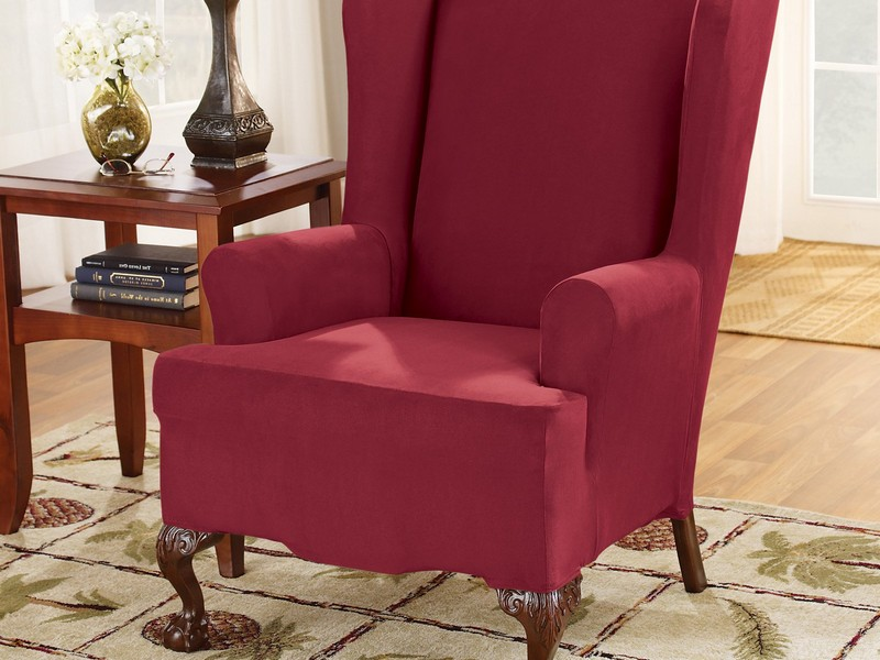 Slipcovers For Wing Chairs With Box Cushion