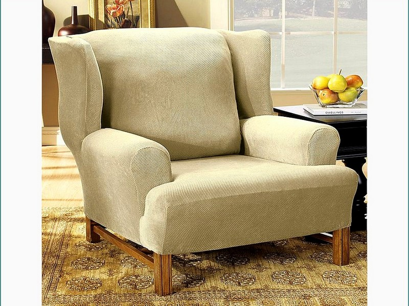 Slipcovers For Wing Chairs With T Cushion
