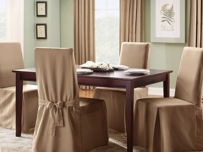 Slipcovers For Wooden Dining Chairs