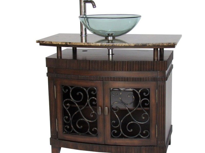 Small Antique Bathroom Vanities