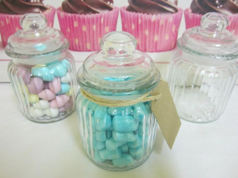 Small Apothecary Jars Wedding Favors